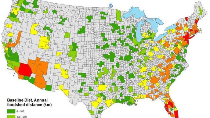 Some But Not All US Metro Areas Could Grow All Needed Food Locally, Estimates Study