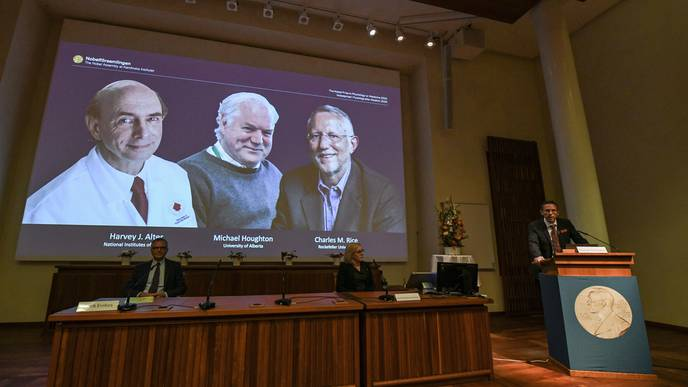 Americans & Briton Win Nobel Prize in Medicine for Discovery of Hepatitis C Virus