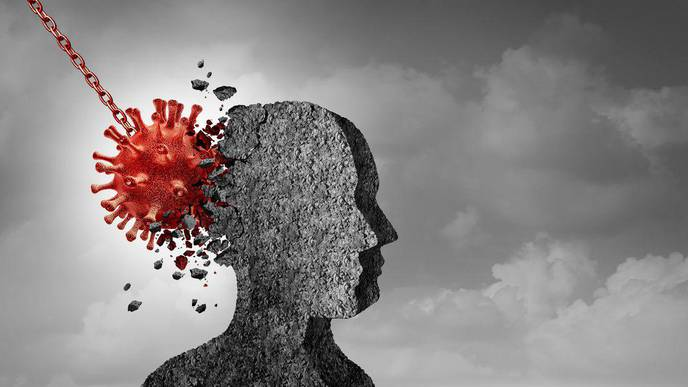 Covid-19 Might Lead to a 'Mental Health Pandemic'